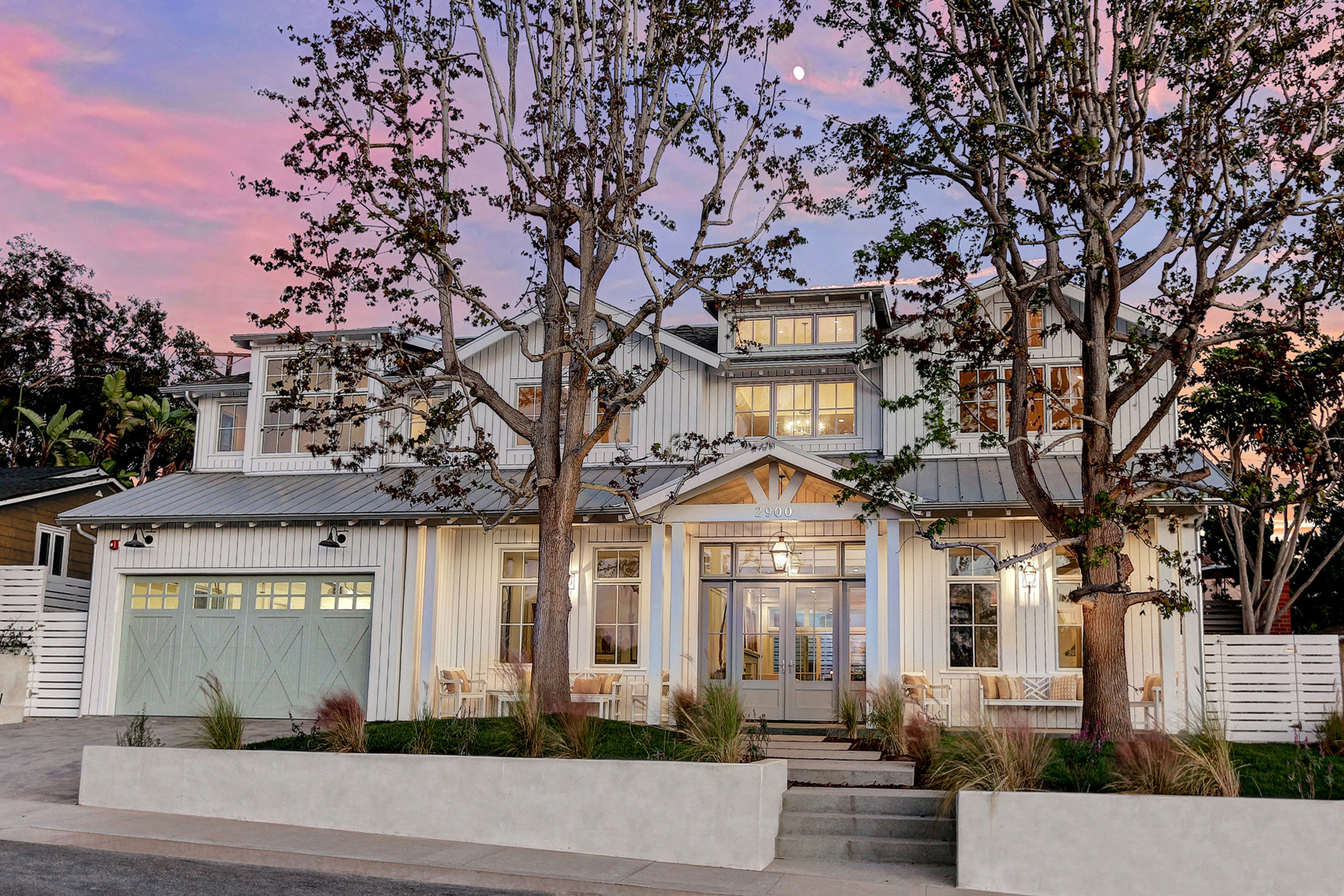New custom house in the tree section of manhattan beach california custom built and interior design by titanco